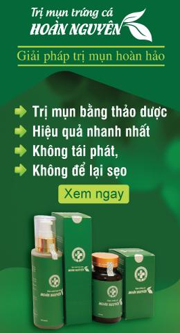 Banner Quảng Cáo trị mụn