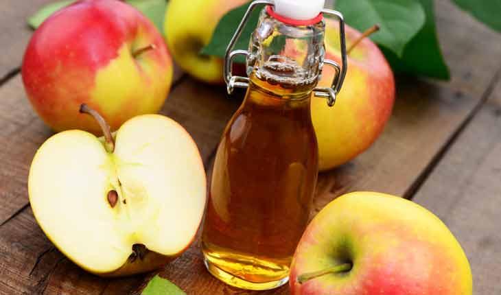 Khử mùi hôi nách bằng giấm táo