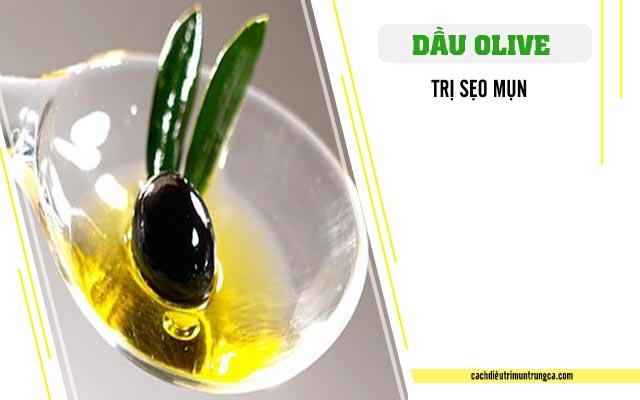 Cách trị sẹo mụn của dầu olive