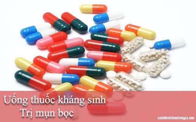 thuốc kháng sinh trị mụn bọc