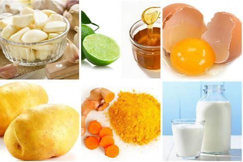 Thực phẩm trị mụn ẩn dưới da