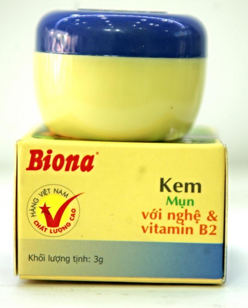 Hiệu quả trị mụn của kem trị mụn biona
