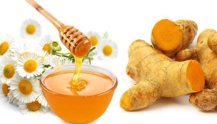 Nghệ và mật ong làm trắng da hữu hiệu