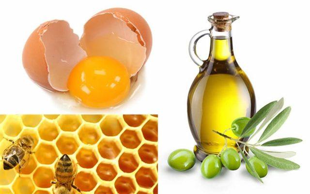 Cách làm trắng da bằng trứng gà và mật ong với dầu ô liu
