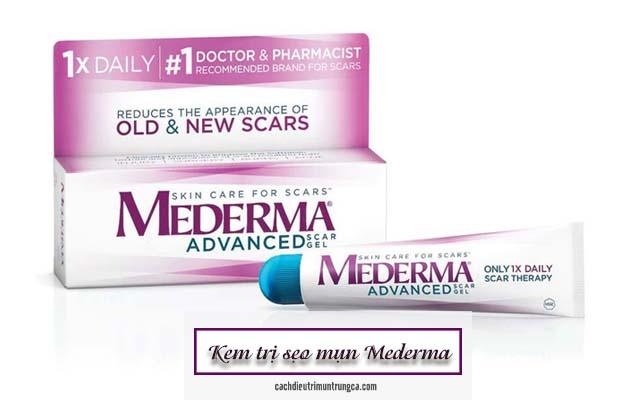thành phần và công dụng kem trị sẹo Mederma