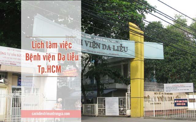 bệnh viện Da liễu Tp.HCM