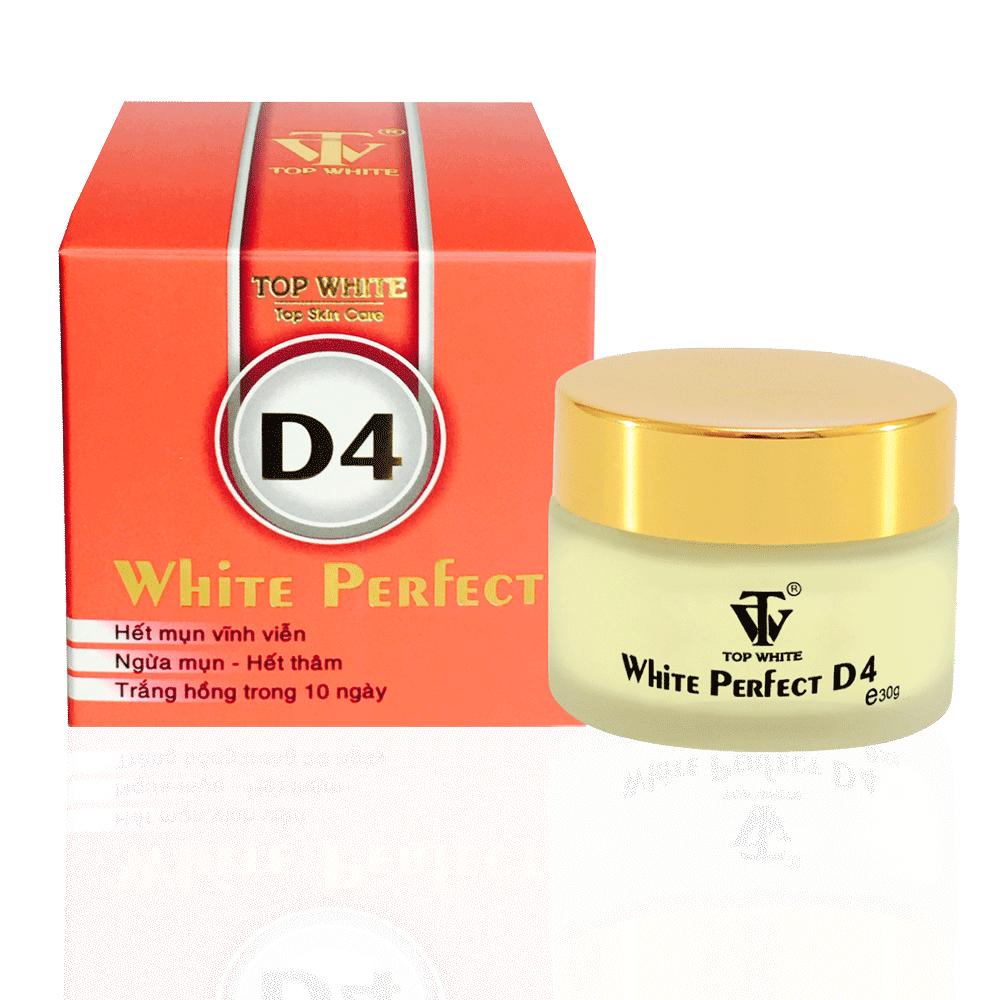 Thực hư về kem trị mụn White Perfect D4