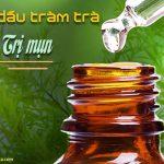 tinh dầu tràm trà trị mụn