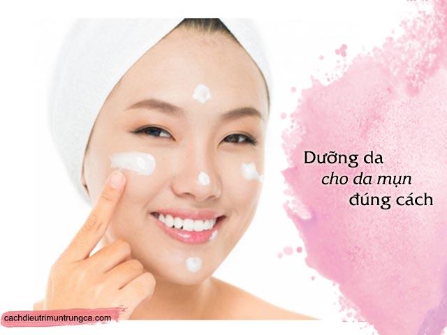 lưu ý khi sử dụng kem dưỡng cho da vừa hết mụn