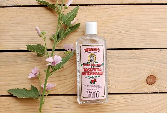Thayers Alcohol-Free Rose Petal Witch Hazel Toner dành cho da hỗn hợp thiên dầu