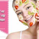 trị mụn bằng mặt nạ trái cây