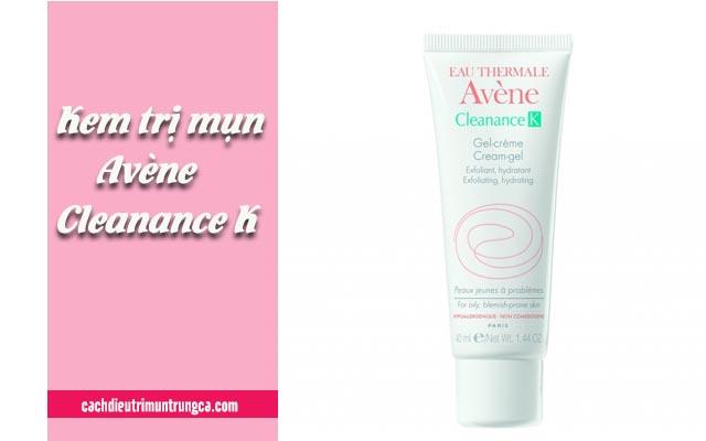 Kem trị mụn Avene Cleanance-K cho da khô