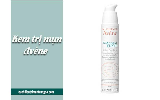 kem trị mụn cho da khô Avène