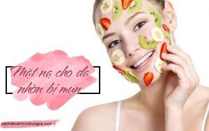 mặt nạ cho da nhờn bị mụn