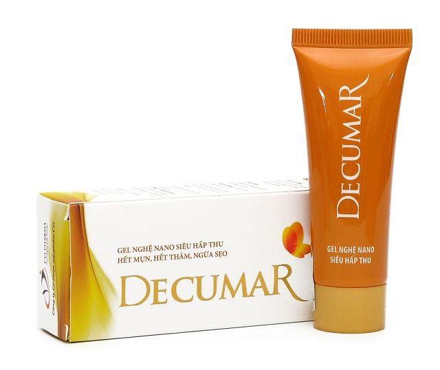 Phản hồi về kem trị mụn thâm Decumar