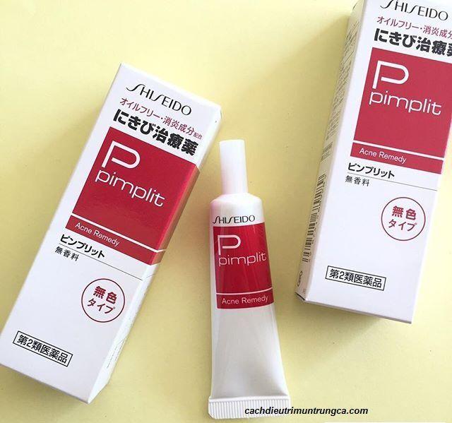 Kem trị mụn trứng cá Shiseido