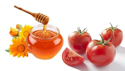 Mặt nạ trị mụn cám từ mật ong và cà chua