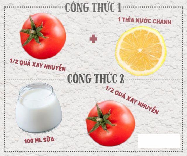 Cách trị sẹo thâm do mụn bằng cà chua