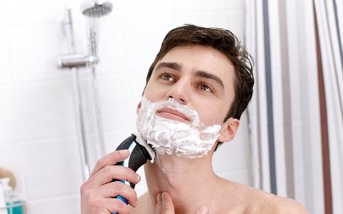 Cạo râu đúng cách ở nam giới