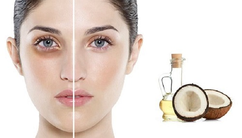 Tẩy trang bằng dầu dừa để chăm sóc da mặt