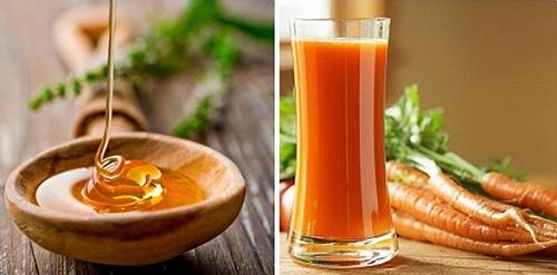 Mặt nạ trị mụn cho da nhạy cảm từ mật ong và cà rốt