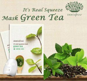 Innisfree It's Real Squeeze Green Tea
