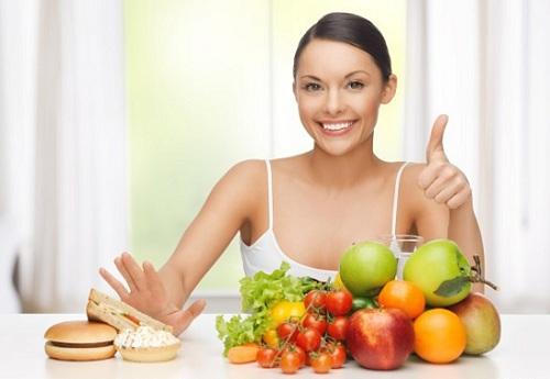 Chế độ ăn giúp chăm sóc da mặt bị nám