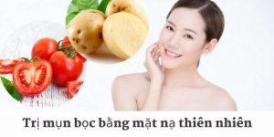 Cách trị mụn bọc bằng khoai tây