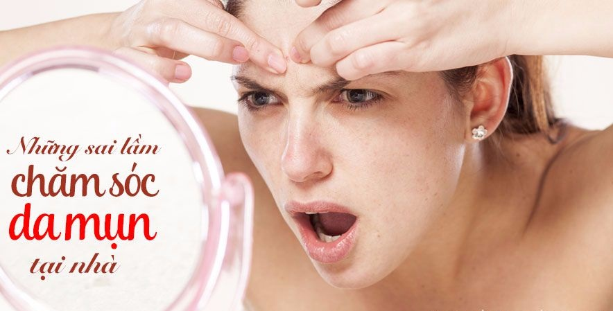 Sai lầm trong việc chăm sóc da cũng khiến cho mụn đầu đen ở mmas bùng phát