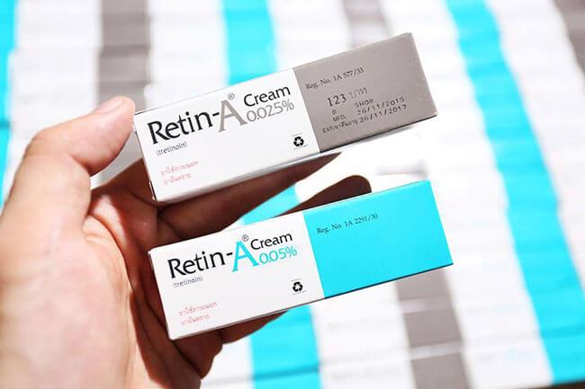 Kem trị mụn trứng cá Retin A