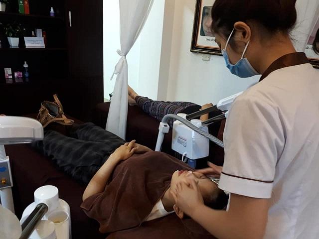 Peel phục hồi tại Trung tâm Da liễu Đông y Việt Nam