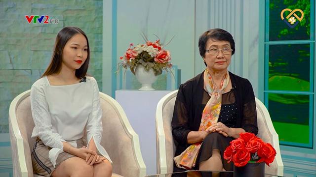 Bác sĩ Nhuần và khách mời Huyền Anh có mặt và chia sẻ tại chương trình