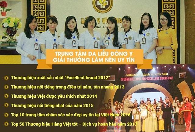 Trung tâm Da liễu Đông y Việt Nam là một trong những cơ sở trị mụn, thâm sẹo uy tín