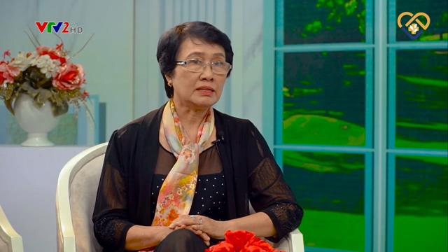 Bác sĩ Nguyễn Thị Nhuần chia sẻ phương pháp hỗ trợ trị mụn hiệu quả trên VTV2
