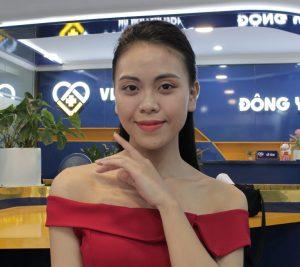 Làn da của chị Trang đã thực sự hồi sinh trở lại sau khi điều trị tại Viện Da liễu Hà Nội - Sài Gòn